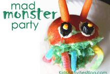 ideas for a monster party. / by Kym Piez