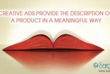 Film Production Agencies in India / Creativity ads provide the description of a product in a meaningful way.