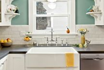 kitchen and laundry room swap / by carrie
