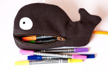 Pencil case clutch pouche