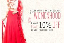 EVENTS / Upcoming events with our latest collection and surprising offers. - By Anju Agarwal and Anushree Agarwal
