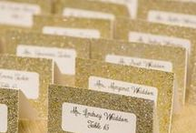 Wedding gold silver white