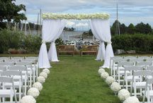 Weddings at RVYC / Gorgeous waterfront ceremony locations and a beautiful clubhouse for your reception venue. RVYC is truly a place where magical memories are made.