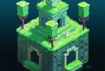 ゲーム背景