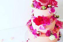 Wedding cakes / Wedding cakes and other fancy cakes. Baptism cakes.  Bryllupskaker og dåpskaker.