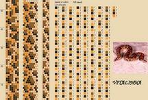 Crochet beading  7-8 rounds