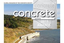 Concrete, November 2015 / Concrete November 2015 includes project articles on all the Society Awards shortlisted entries.