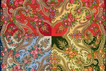 《Краски лета》1291 (146㎝×146㎝)〔Дадонова Ирина〕