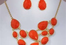 Orange Jewelry / by Leah Cissell