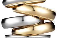 Argollas de Matrimonio / Hermosas, clásicas y modernas argollas de matrimonio elaboradas a mano con los mas cuidadosos detalles