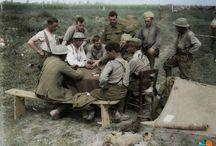 Soldat Canadien / Photos colorisées de soldats Canadiens durant la première guerre mondial