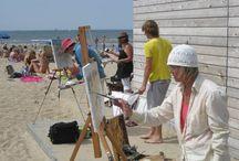 Schilderen aan zee / Kunstvereeniging Katwijk