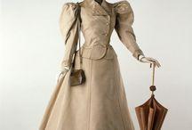 Ubiory podróżne XIX wiek / Traveling clothes 19th century