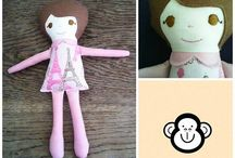 Little Darlings Toys Soft Toys / Soft toys made by Little Darlings Toys