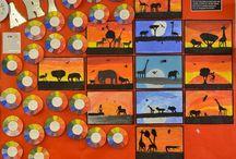Classroom art ideas