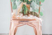WEDDING PALLETTE  | Peach + Copper