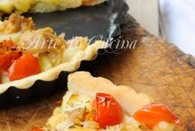 Crostata tonno e pomodorini
