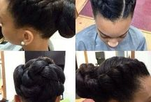 Updo's / Updo hairstyles