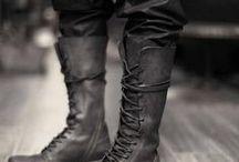 Men tall boots