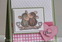 house mouse cards / by Judy Halick