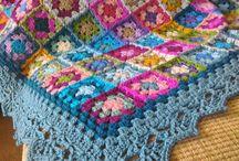granny squares blankets
