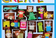 Classroom Art and Craft Ideas / Creative, simple projects that extend student learning
