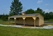 Lean-To Barns / J&N Structures builds quality lean-to barns.