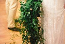 Bridal Bouquet Greenery Cascading