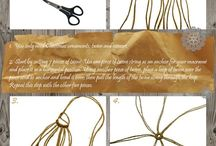 Twine projects/Macrame