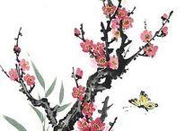 sumi y pintura japonesa