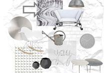 B. SET ESTILO INDUSTRIAL. POLYVORE. / Ambiente de estilo industrial, creado en la web Polyvore. Inspiración: mobiliario metálico, óxido, lofts, naves, luminarias de fábrica, instalaciones vistas, sillas tolix ....
