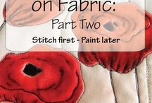 painting on fabric