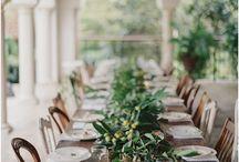 Table Scape Rustic Elegant