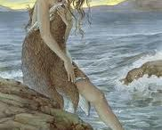 Song of the Selkie / Restless wind and wild sea, return my love to me.
