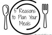 Meal Planning / Meal planning ideas and menus.