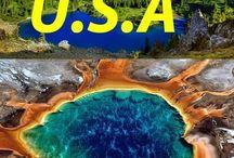 Roadtrip USA / In den USA mit dem Auto oder Wohnmobil Reisen! Westküste, Ostküste, die Touristenattraktionen oder aber auch abseits der Touristenrouten...