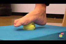 esercizi per i piedi