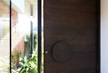 d o o r s / ideas for front doors, internal doors, feature doors