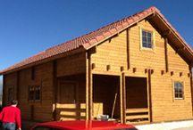 Casas de madera bolanios de 95m2 / Casas de madera de 95 m2 Modelo Bolanios Instalción