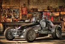 vintage midget car