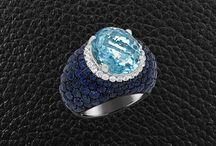 Gemstone Combinations / Stunning gemstones set in combination to create amazing jewelry pieces.