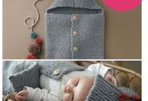 baby cocoon knit