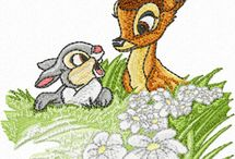 Bambi Embroidery Designs