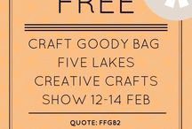 Craft Show Five Lakes Essex / All about the Creative Craft Show Five Lakes, Essex 12-14th February 2015
