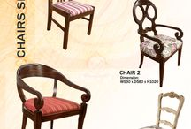 Chairs Series of Decorus Furniture / Chairs Series