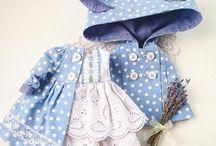 oblečenie pre bábiky (tildy...)