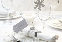 Silver White Winter Wedding