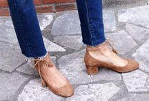 zapatos para jeans