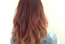 hair / #hair #gradation #arrange #color #ヘアアレンジ #ヘアカラー