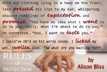 Pure Bliss / Alison Bliss; Author of Rules of Protection Street Team.